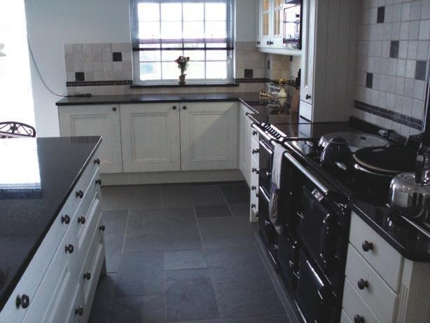Black Slate Flooring : Black slate tile tiles floors flooring